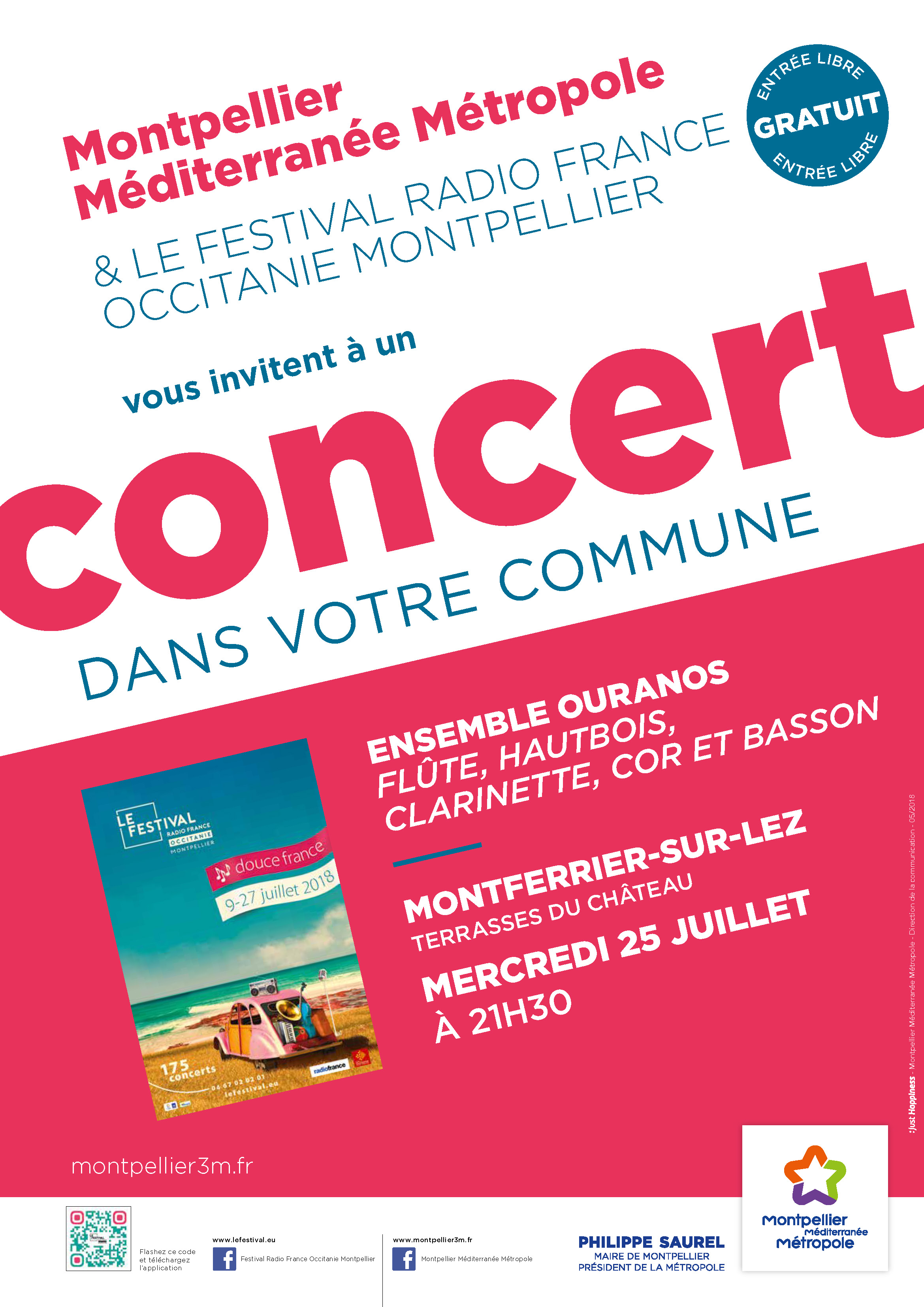 Festival Radio France Occitanie Montpellier | ENSEMBLE OURANOS
