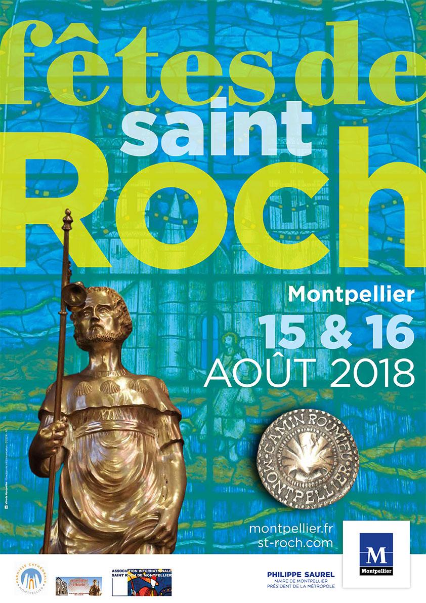 Rencontres et fêtes internationales de Saint-Roch : Affiche