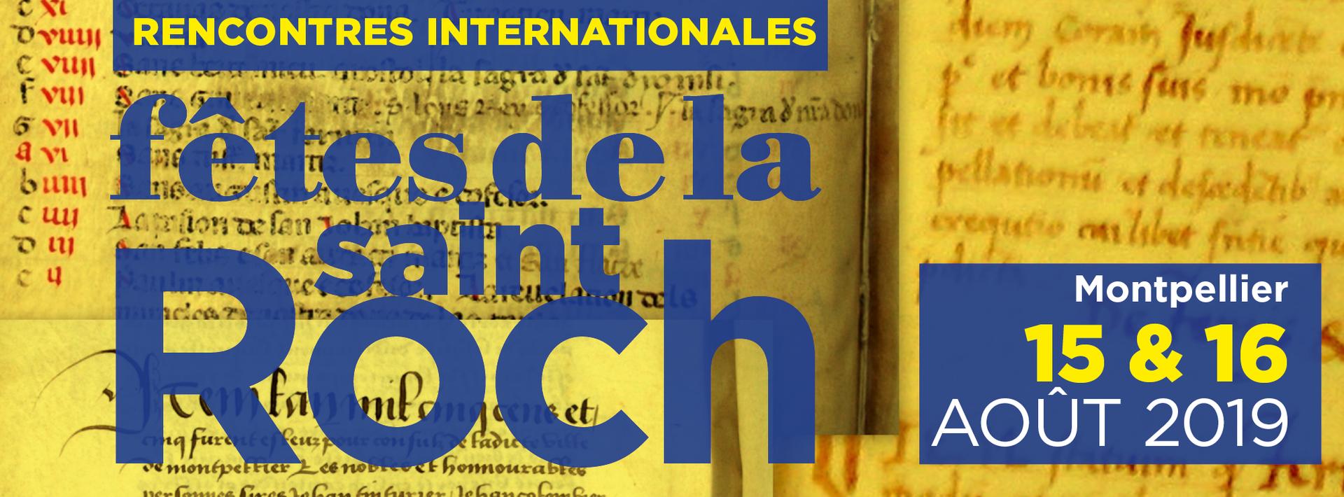 Fêtes de la Saint-Roch 2019