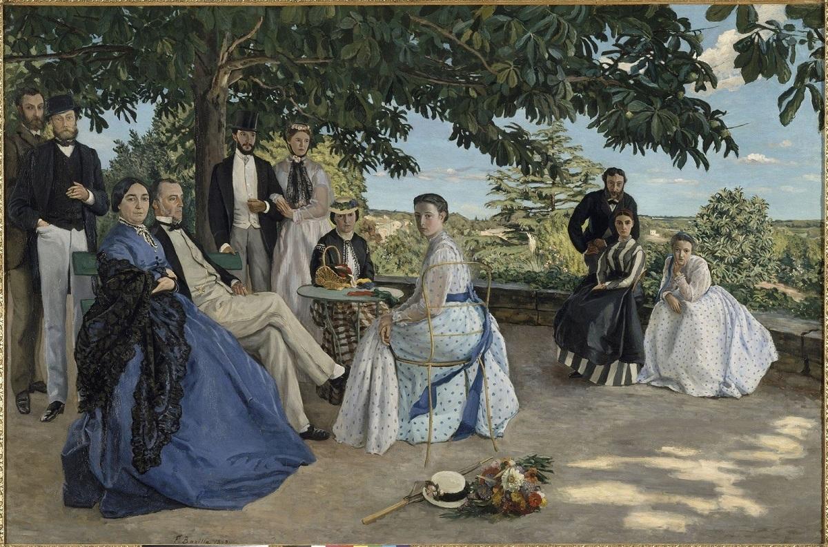 Bazille - portrait-de-reunion de famille