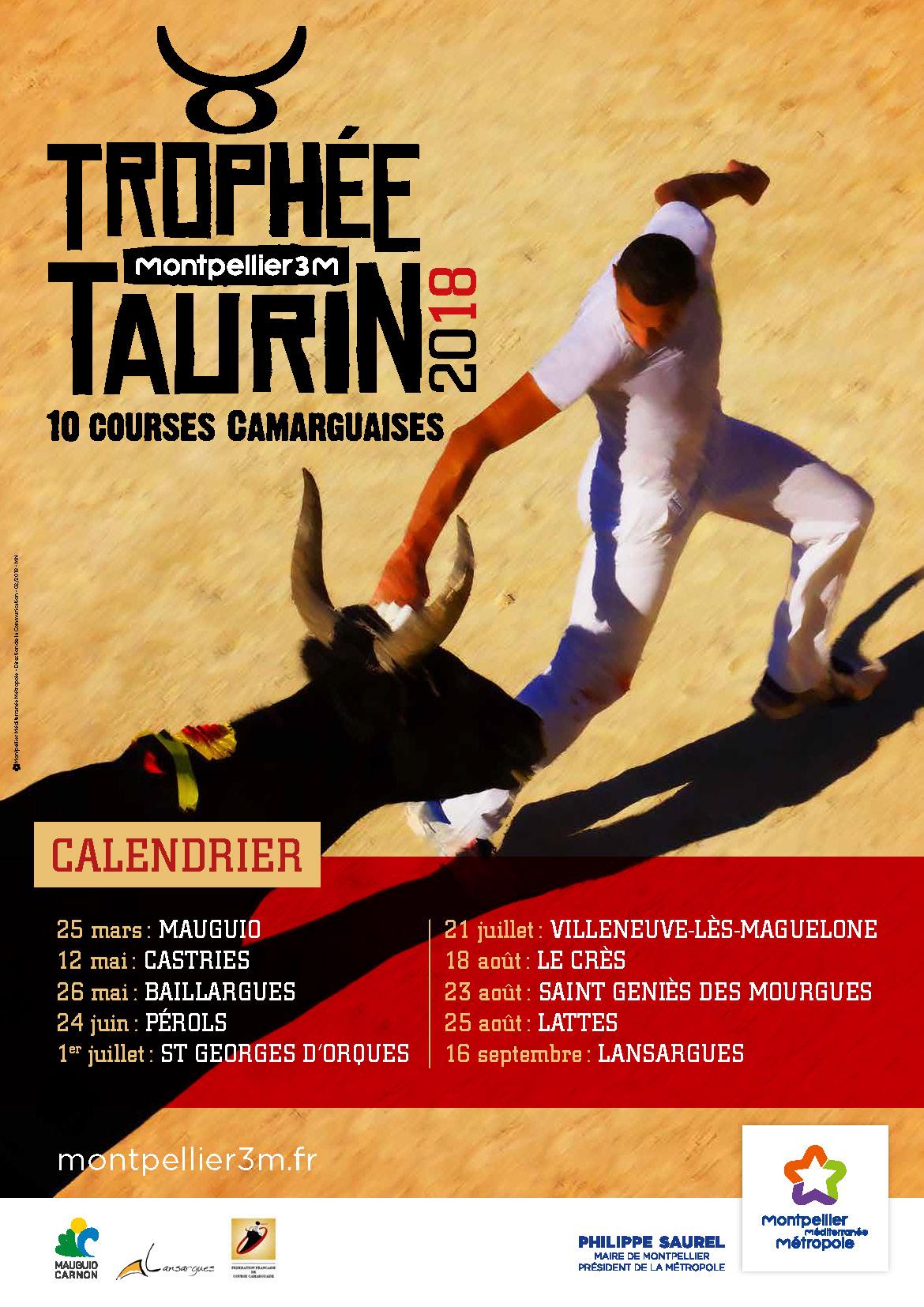 Trophée taurin 2018 - Saint Geniès des Mourgues