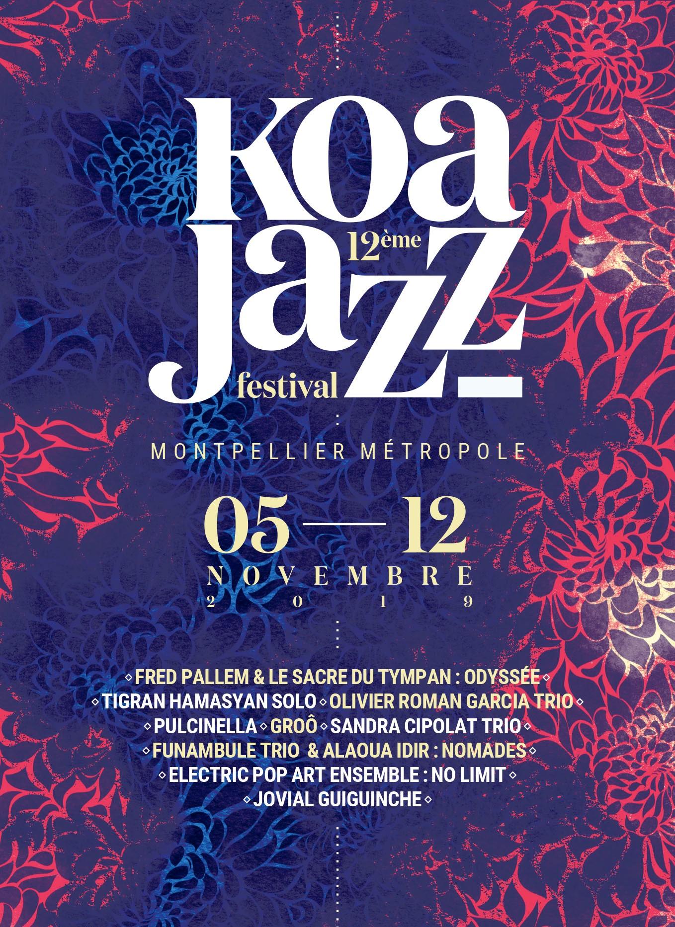 Affiche Koa Jazz Festival