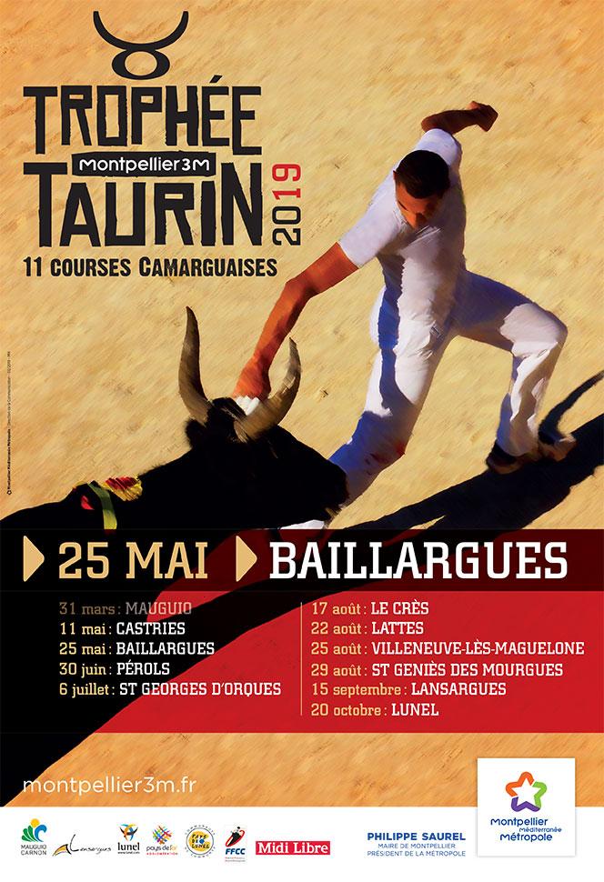 Trophée taurin Baillargues