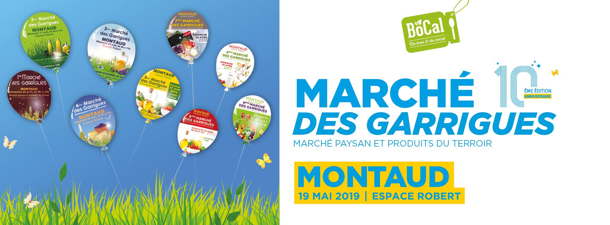 10ème marché des Garrigues à Montaud