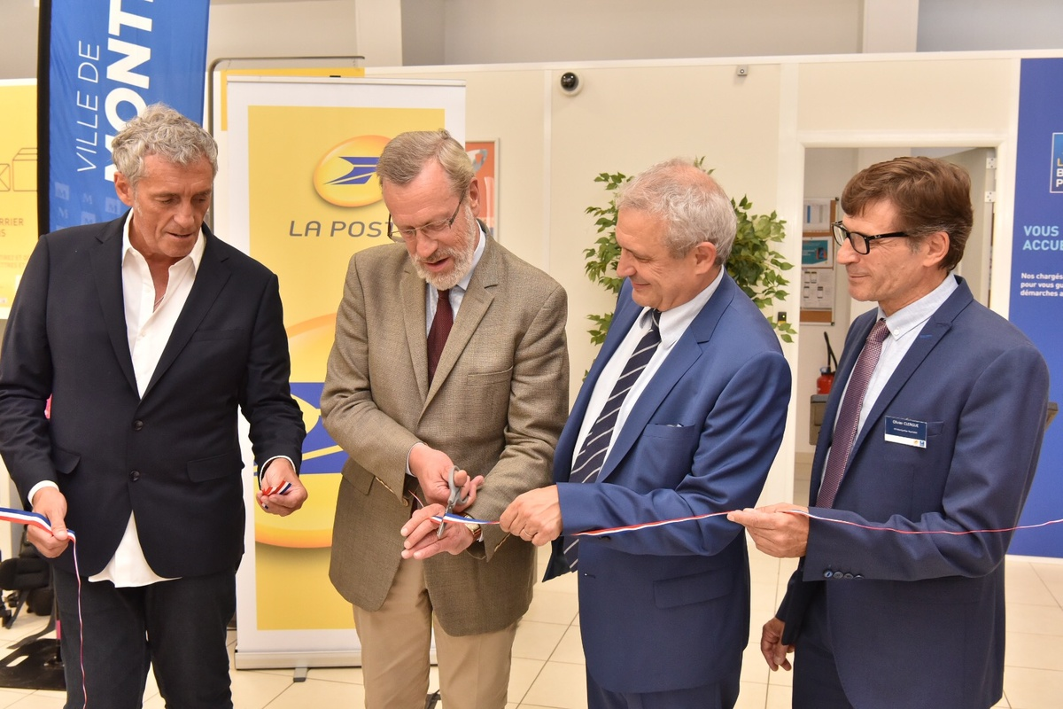 Inauguration Poste Rondelet