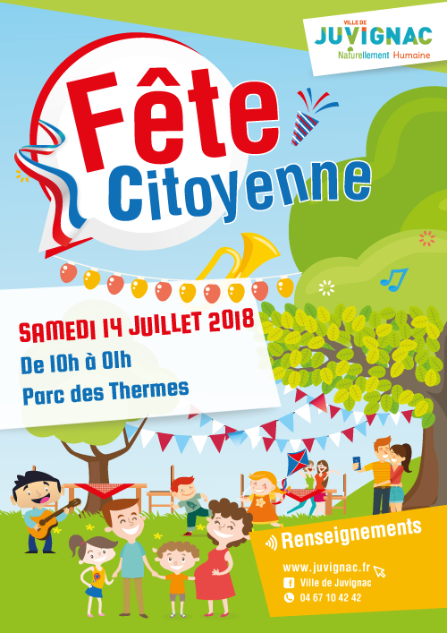 Fête nationale à Juvignac