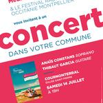 Festival Radio France Occitanie Montpellier | ANAÏS CONSTANS et THIBAUT GARCIA