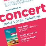 Festival Radio France Occitanie Montpellier | TRIO ZADIG
