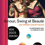 """Affiche de la pièce """"Amour, Swing et Beauté"""""""