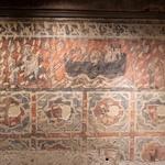 La fresque médiévale de l'hôtel de Gayon