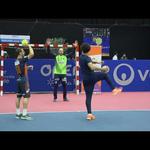 Embedded thumbnail for Jo-Wilfried Tsonga face aux champions du monde de handball