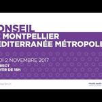 Embedded thumbnail for Conseil de Métropole du 2 novembre 2017