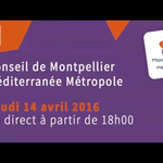 Embedded thumbnail for Conseil de Métropole : 14 avril 2016 à 18h