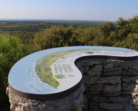 Montaud, la table d'orientation