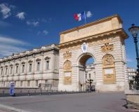 Montpellier - l'arc de triomphe du Peyrou
