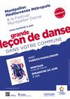 Grande leçon de danse à Montaud