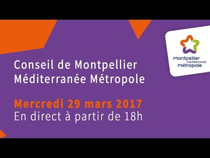 Embedded thumbnail for Conseil de Métropole du 29 mars 2017