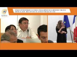 Embedded thumbnail for Conseil d'Agglomération du 7 mai 2014