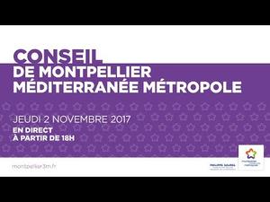 Embedded thumbnail for Conseil de Métropole 2 novembre 2017