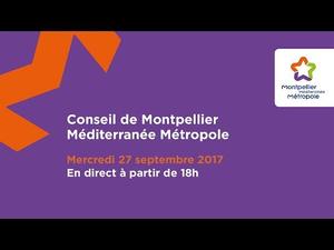 Embedded thumbnail for Conseil de Métropole 27 septembre 2017