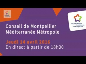 Embedded thumbnail for Conseil de Métropole du 14 avril 2016