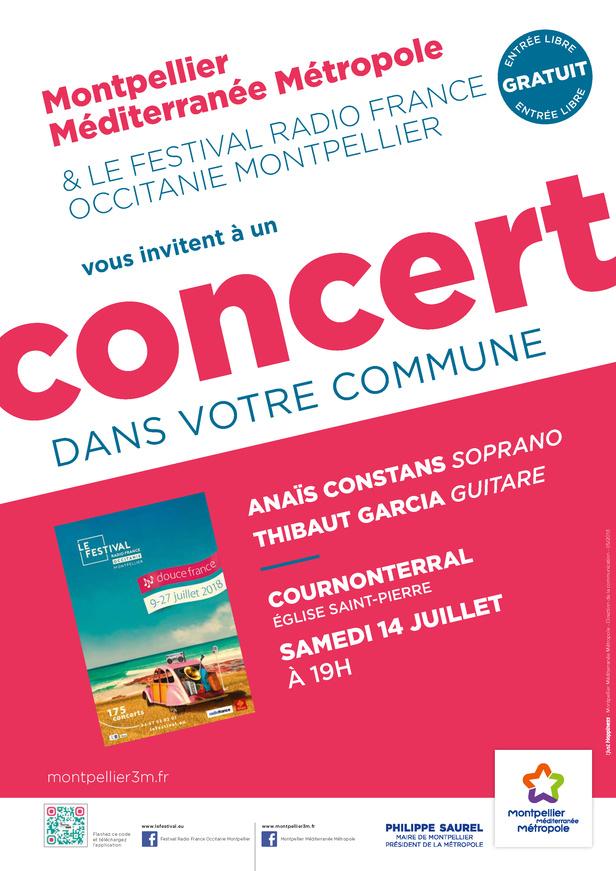 Festival Radio France Occitanie Montpellier   ANAÏS CONSTANS et THIBAUT GARCIA