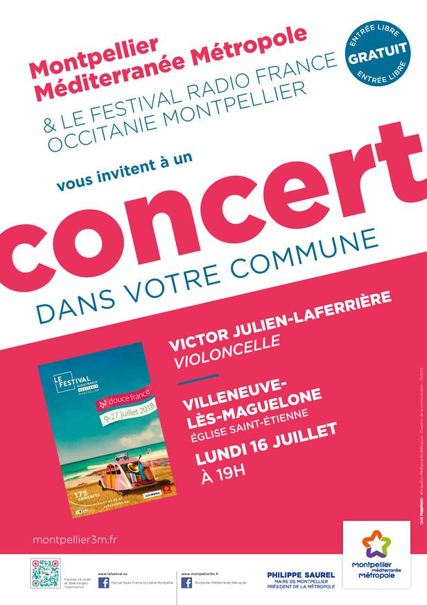 Festival Radio France Occitanie Montpellier | VICTOR JULIEN-LAFERRIÈRE