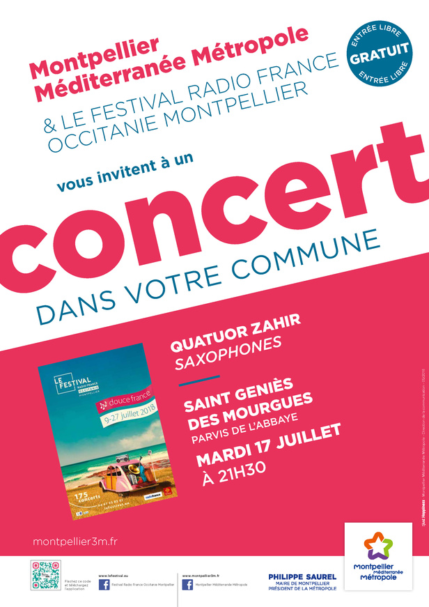 Festival Radio France Occitanie Montpellier | QUATUOR ZAHIR