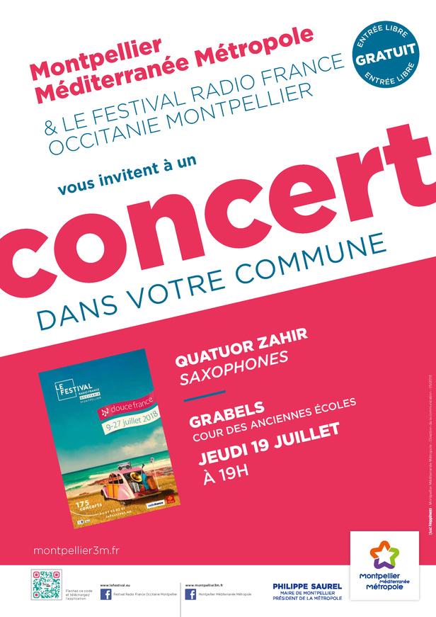 Festival Radio France Occitanie Montpellier   QUATUOR SAHIR