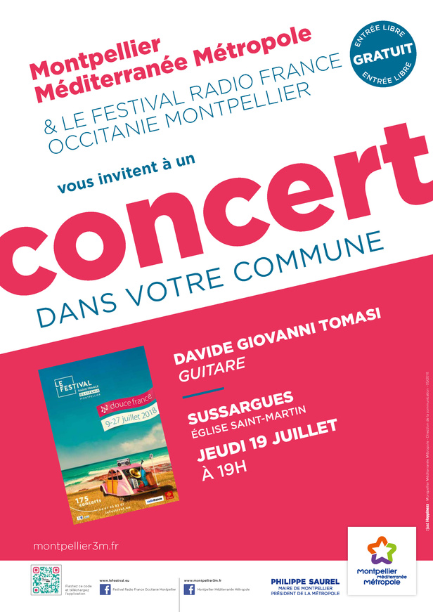 Festival Radio France Occitanie Montpellier | DAVIDE GIOVANNI TOMASI