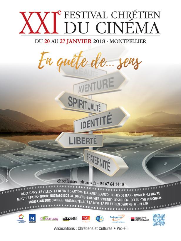 Affiche Festival Chrétien du Cinéma