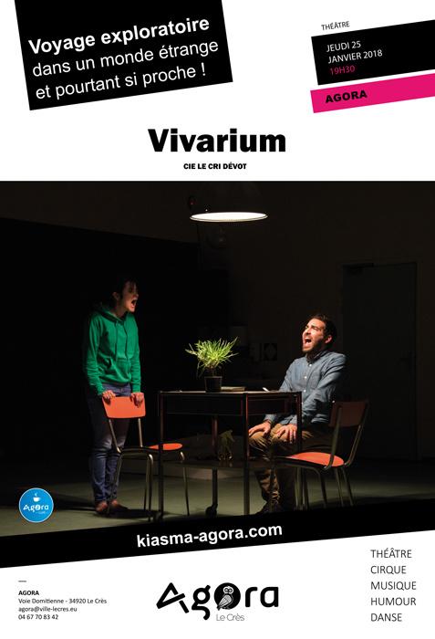 Vivarium Agora Le Crès