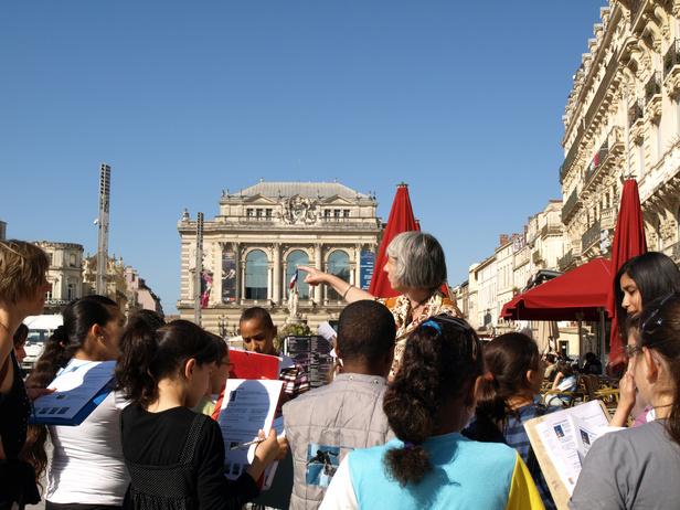 jeu de piste © OT Montpellier M Moynier-BD
