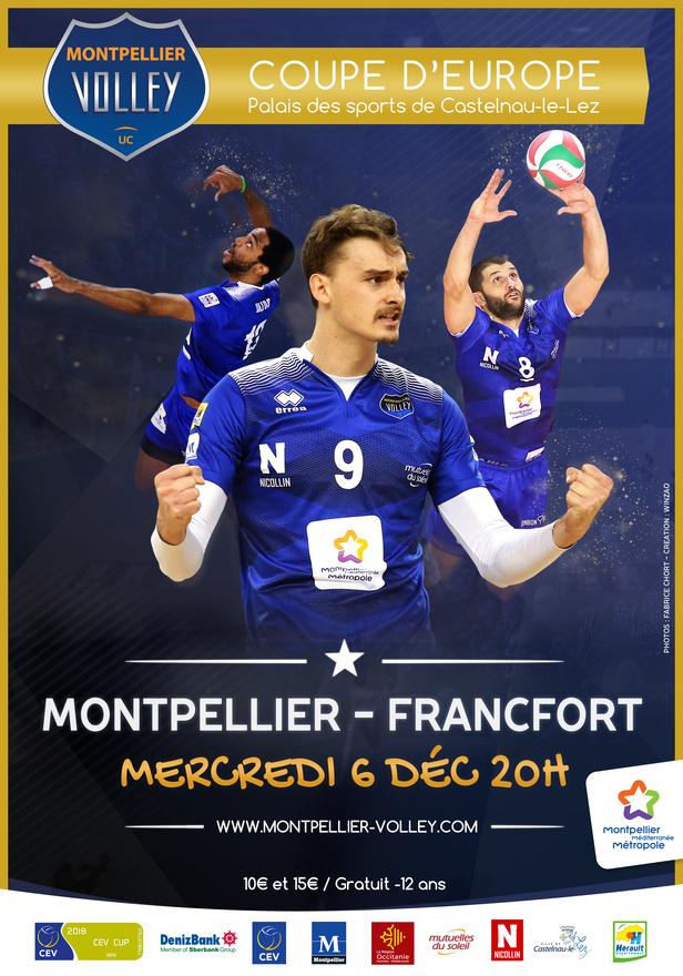 Volley ball : MVUC - FRANCFORT SUR LE MAIN