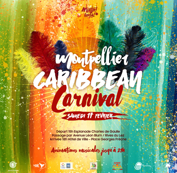 Affiche du Montpellier Caribbean Carnival