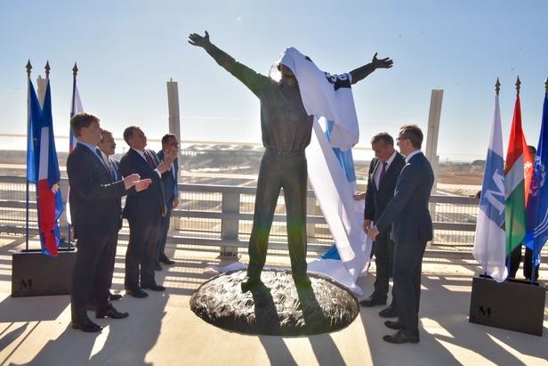 statue de Youri Gagarine