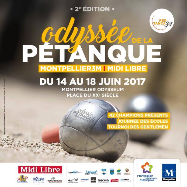 L'Odyssée de la Pétanque à Montpellier