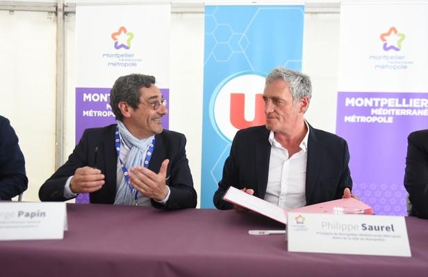 La Métropole signe un partenariat avec Système U