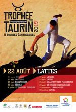 Trophée taurin Lattes