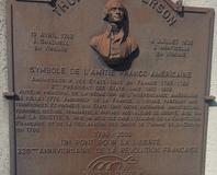 Saint-Georges-d'Orques - Plaque Thomas Jefferson