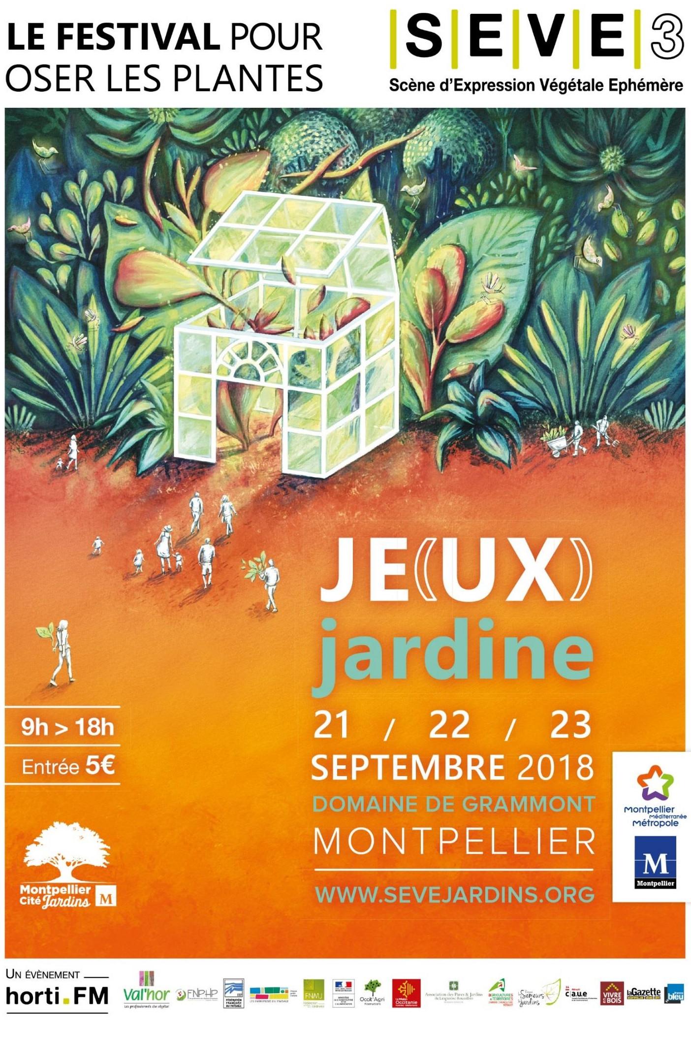 SEVE - Affiche du festival