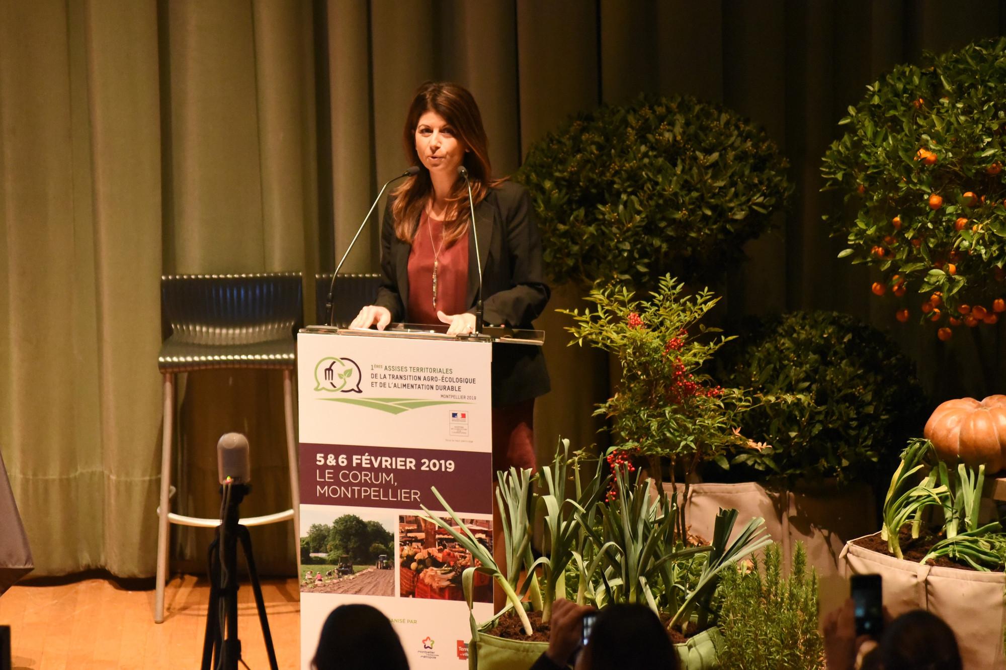 Mylène Fourcade, Vice-Présidente de Montpellier Méditerranée Métropole en charge de l'agroécologie et de l'alimentation
