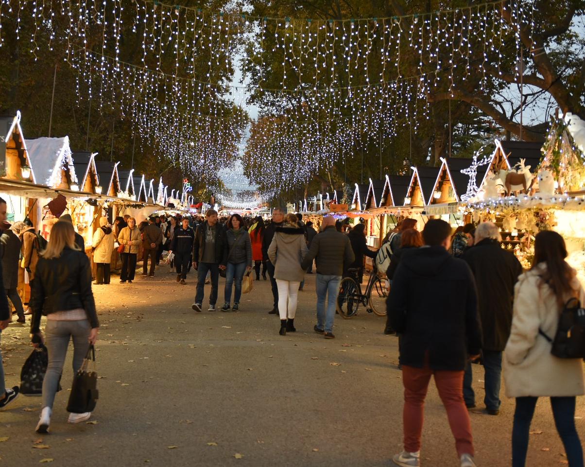 Marché de Noël Métropole Montpellier