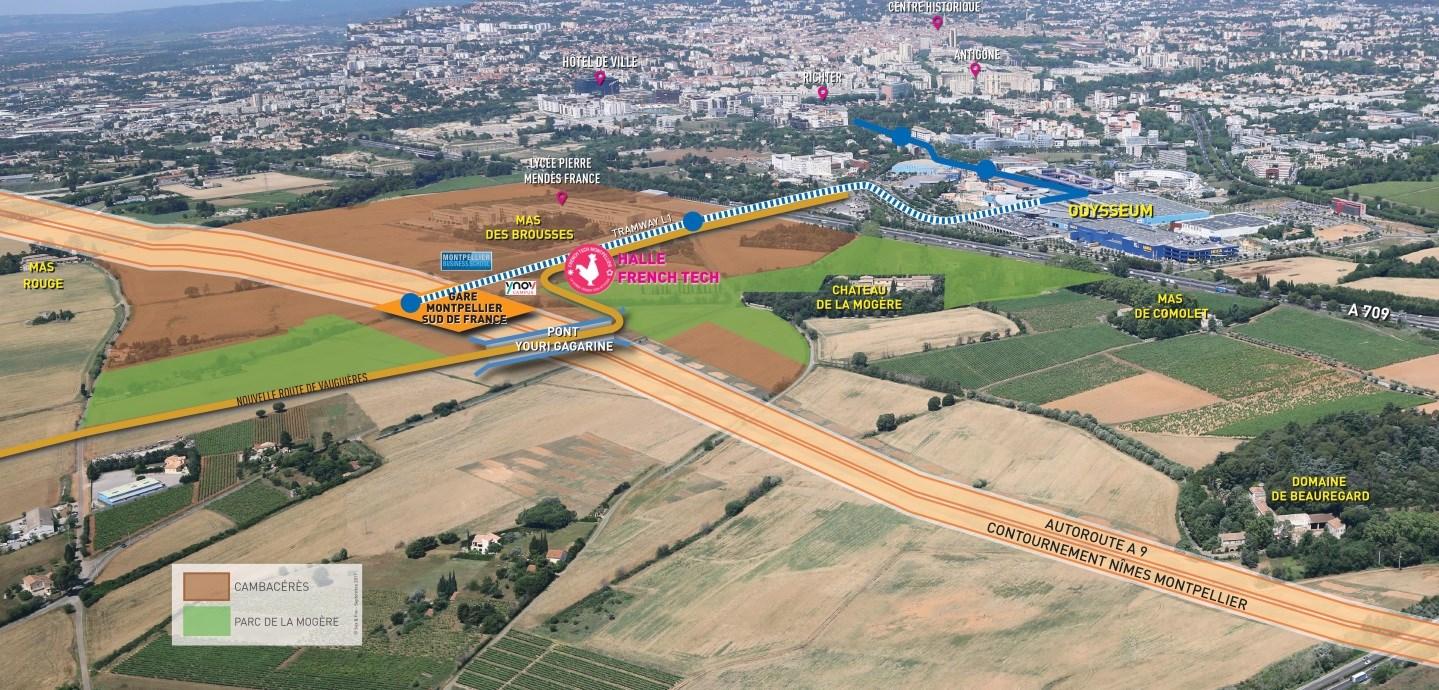 Plan quartier Cambacérès