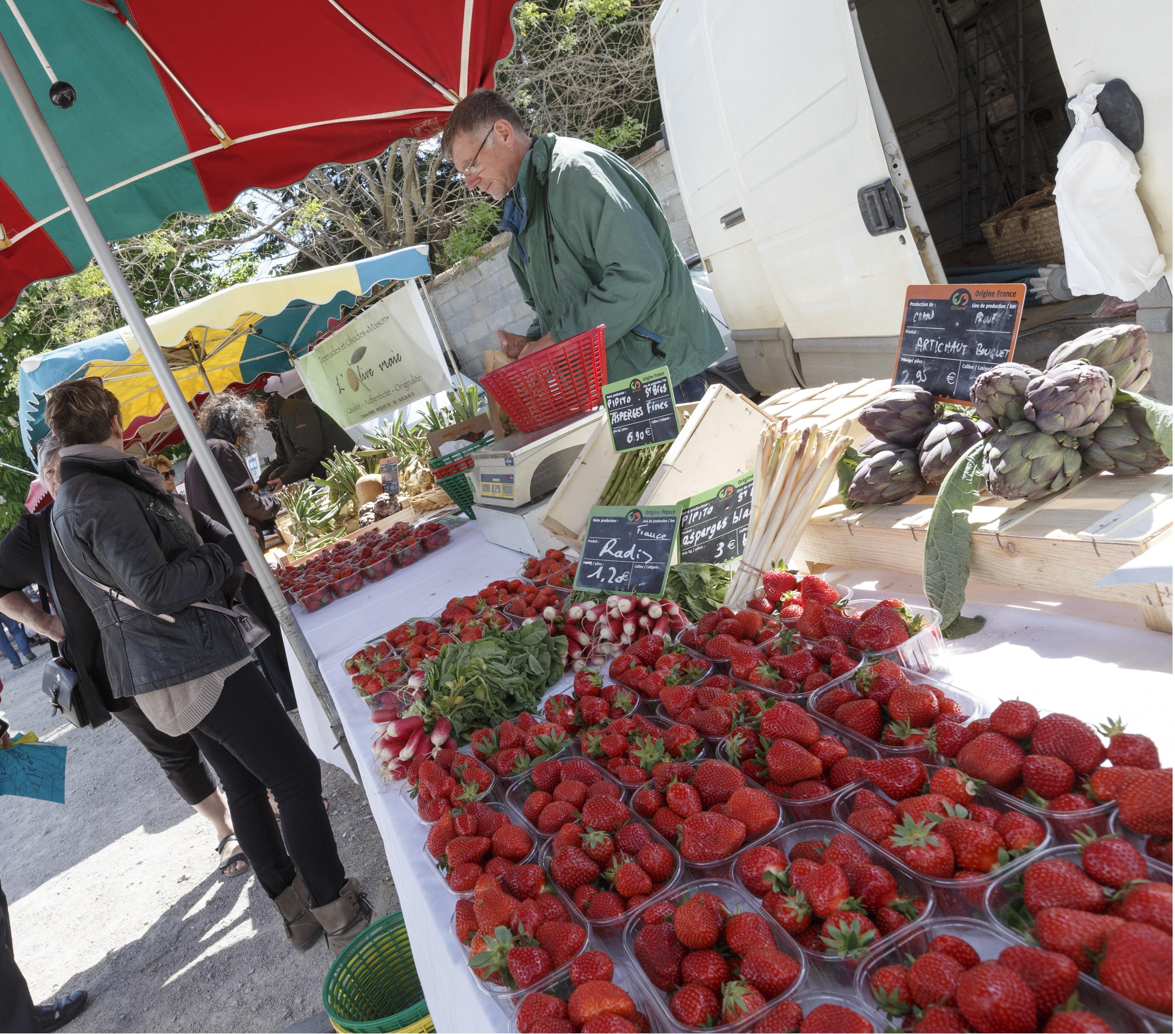 9eme marché des Garrigues à Montaud